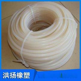 耐高溫硅膠實心條 硅膠圓性膠條 耐高溫硅膠管