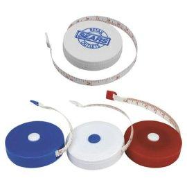 稳泰卷尺厂专业生产环保PVC可伸缩塑料卷尺 迷你皮软尺 礼品卷尺