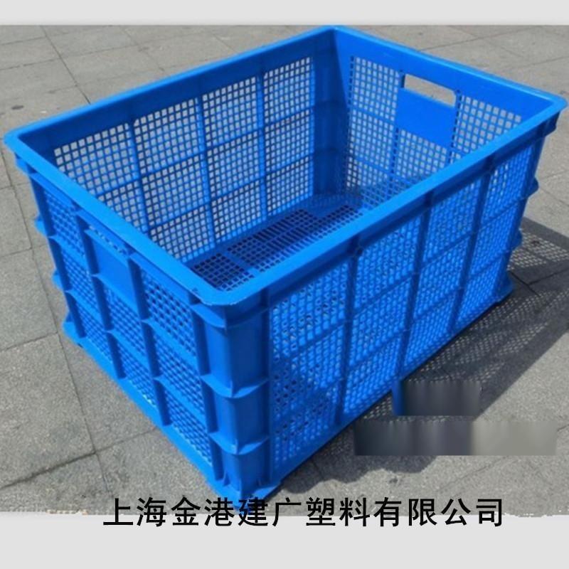 供应 720*515*400 塑料大号周转筐  服装  周转筐  物流装运筐