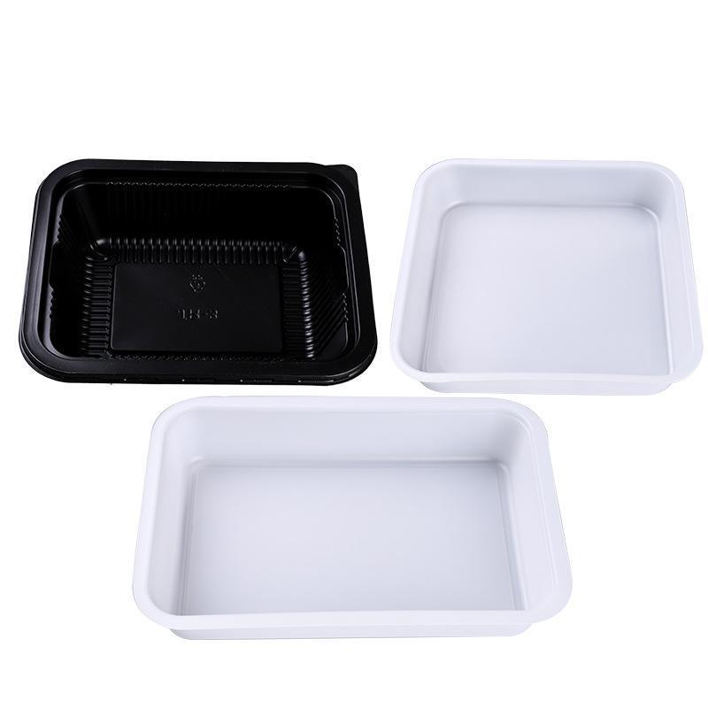 小龙虾一次性塑料饭盒包装透明沙拉果蔬托盘生海鲜冷鲜肉包装托盘