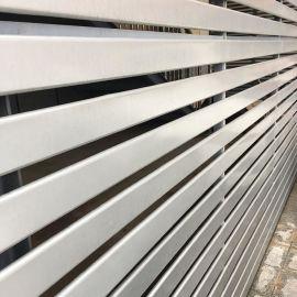 订制招牌广告门头 R85宽铝条扣厂家批发6米长铝条扣