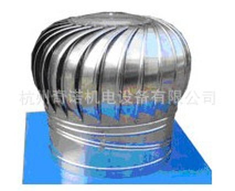 500型不锈钢无动力通风器安装屋顶风帽