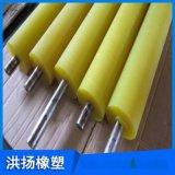 印刷机械用聚氨酯胶辊 PU胶辊包胶 聚氨酯胶轴