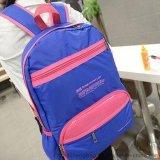糖果色運動男女雙肩揹包,休閒高中書包