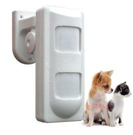 有线室外红外探头 微波防宠物红外探测器