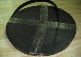 健身器材平皮带 进口镀锌钢丝受力芯