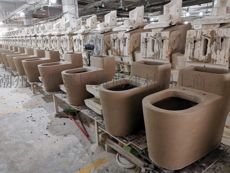 广东潮州马桶厂家连体坐便器坐厕座厕贴牌生产厂家直销