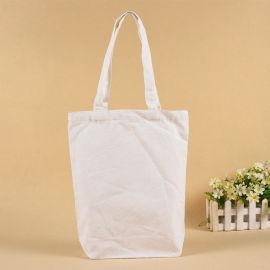 字母帆布袋定制logo有底棉布袋购物礼品展会赠品袋