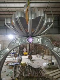 钻石世家的玻璃钢仿真戒指雕塑钻石婚戒模型