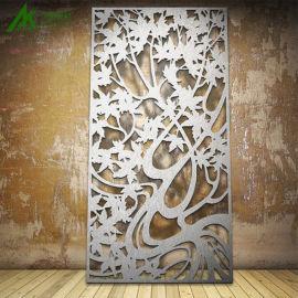 雕花工艺铝窗花厂家直销装饰材料窗户铝窗花规格定制