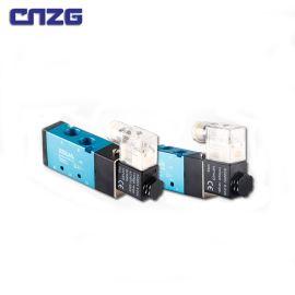精品亚德客型电磁阀4V210-08 4V310-10二位五通220V 24V微型气动