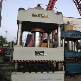 廊坊二手630吨型三梁四柱液压机二手液压机回收市场