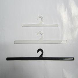 供应 塑料钩子 黑色衣架挂钩 包装袋勾子 26.5*3.4