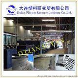 大連塑料研究所 DSY4000土工格柵生產線