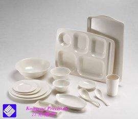 广东江裕精密美耐皿(密胺)仿瓷餐具及其模具