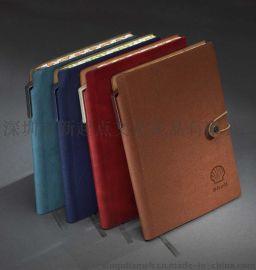 礼品记事本定做   活页本笔记本 真皮商务笔记本厂家可定制LOGO