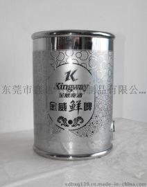 供应304不锈钢金威鲜啤桶 2.5L-不锈钢桶