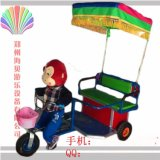 首推小猴子拉車機器人蹬車小洋人蹬車海貝
