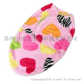品牌 新生婴儿襁褓包巾睡袋 法莱绒印花宝宝用品 秋冬款包被批发