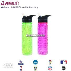 大容量便携太空水杯子 塑料防漏户外运动水壶 创意冰镇水瓶随手杯