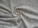 2016新款cvc氨纶段彩点汗布 彩点纱面料