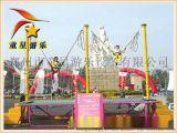 童星蹦极 景区新型游乐设备 有一个全城热议