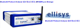 蓝牙协议分析仪 Ellisys BEX400 Bluetooth Protocol Analyzer 蓝牙5.0/4.2/4.0/BR,EDR/BLE