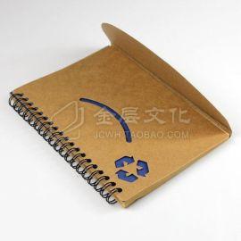 南京供应纸质封面线圈本、礼品记事本、环保笔记本