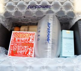 AIRPOWER21x11cm缓冲保护气垫空气充气快递防震包装袋填充气泡袋