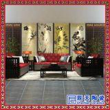 大型山水花草壁画豪华陶瓷壁画