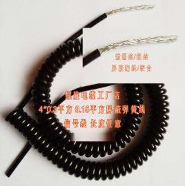 供应光纤螺旋电缆,音频视频专用。专业生产厂家,质量保障【批发音频视频专业螺旋电缆,弹簧线,专业生产商质量保障