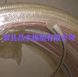Φ16pvc编织软管 pvc钢丝增强软管 价格便宜质量又好的生产厂家昌丰橡塑有限公司