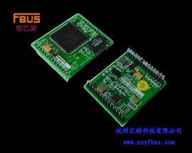 福巴斯FBUS RS-232转以太网模块 NE-FBPORT2100G 杭州汇特科技