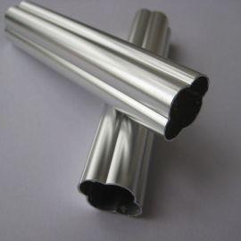 代替不锈钢的抛光仿钢铝合金防盗窗型材