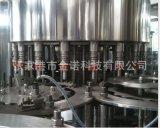批发生产 热灌装饮料生产线  果汁饮料生产设备 三合一灌装机