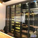 定製不鏽鋼恆溫酒櫃 黃金櫃 紅酒櫃 不鏽鋼酒架 恆溫恆溼酒窖