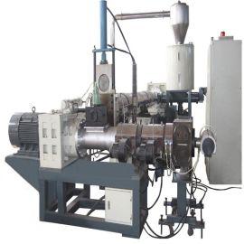供应PVC造粒生产线  新贝机械锥形双螺杆造粒生产线