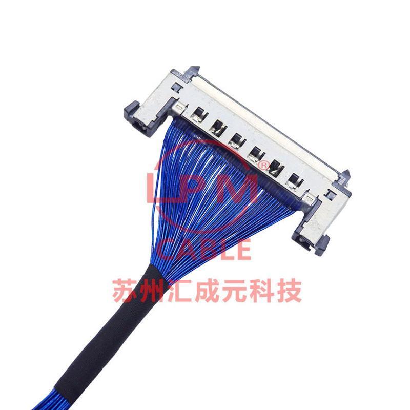 蘇州匯成元供應I-PEX20143-020E-20F 20152-020U-20F極細同軸屏線