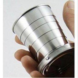 6节不锈钢折叠水杯