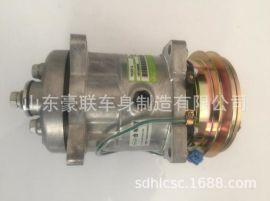 德龙X3000空调压缩机空调压缩机开关制冷德龙空调原厂空调暖风机
