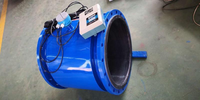 碳钢大型单向电磁流量计泥浆污水化工电磁流量计仪表阀DN300 500