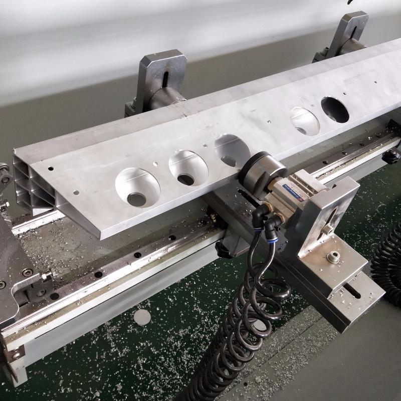 四轴翻转台加工中心 上海铝模板数控加工设备