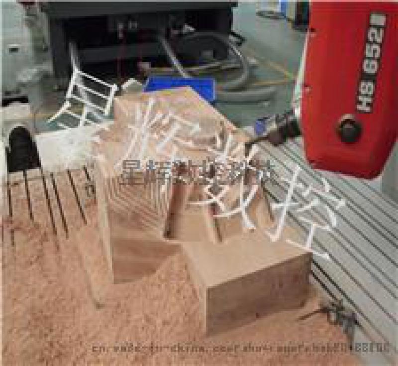 教学演示五轴cnc星辉数控五轴机床联动加工中心