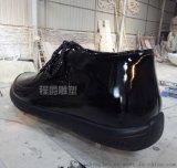 鞋雕塑 优质玻璃钢皮鞋雕塑制作