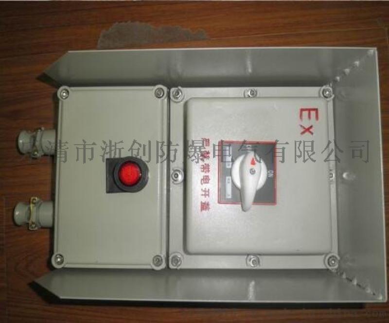 帶塑殼防爆斷路器/BLK-25A防爆斷路器