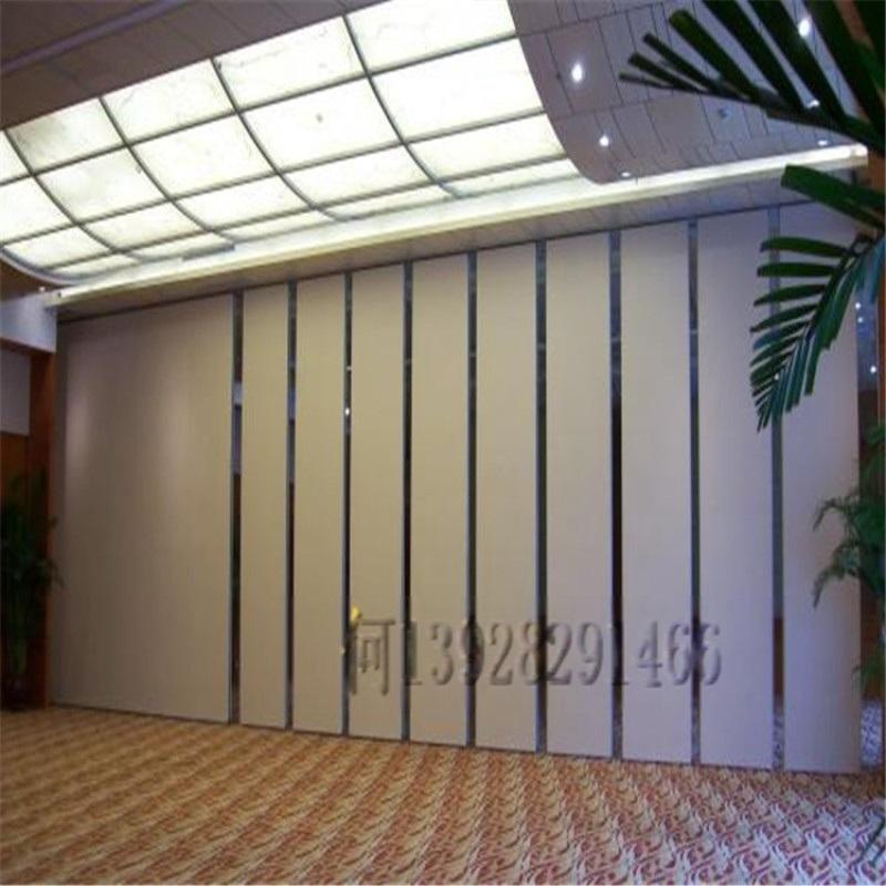 酒店宴會廳活動隔斷牆 飯店摺疊門移動屏風