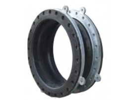 不锈钢双球体橡胶软接头广泛用于化工