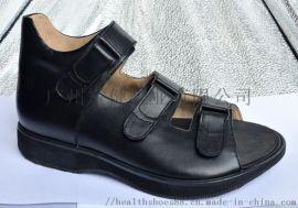 廣州矯健手工定制鞋 下肢不等長補高鞋 姆外翻 足下垂定制鞋