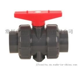 PVC活接球阀,PVC工业球阀