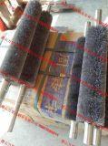 去金属毛刺钢丝辊 不锈钢丝滚刷 除锈钢丝辊